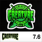 "CREATUREステッカー GRAVE DIGGERS 3"" 7.6cm"