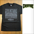Creature【クリーチャー】Tシャツ S/S REMEMBER TO DIE BLACK