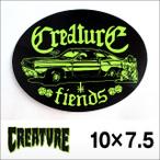 CREATURE【クリーチャー】ステッカー CAR CLUB DUSTER 4