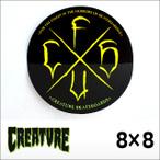 CREATURE【クリーチャー】ステッカー CSFU 3