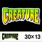 CREATURE【クリーチャー】ステッカー CREATURE LOGO 12