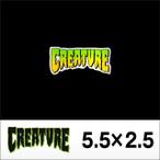 CREATURE【クリーチャー】ステッカー CREATURE LOGO 2