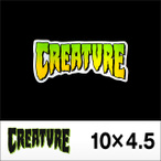 CREATURE【クリーチャー】ステッカー CREATURE LOGO 4