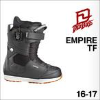 【16-17】DEELUXE【ディーラックス】スノーボードブーツ EMPIRE TF(Black)
