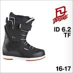 【16-17】DEELUXE【ディーラックス】スノーボードブーツ ID 6.2 TF(Black)