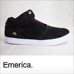 Emerica【エメリカ】シューズ THE HSU G6 (Black/White)