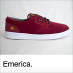 Emerica【エメリカ】シューズ THE ROMERO LACED (Burgundy)