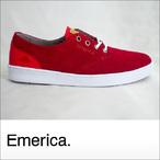 Emerica【エメリカ】シューズ THE ROMERO LACED (Red)