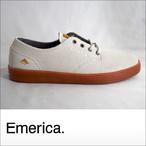 Emerica【エメリカ】シューズ ROMERO LACED (White/Gum)