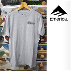 Emerica【エメリカ】Tシャツ DESTROY EVERYTHING SIGN (Gray Heather)サイズ:M