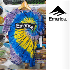 Emerica【エメリカ】Tシャツ PURE STICKER TIE DYE (Navy)サイズ:S