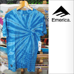 Emerica【エメリカ】Tシャツ SPINNING AXIS POCKET (Dark Navy)サイズ:S