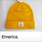 emerica【エメリカ】ビーニー Standard Issue Beanie(Yerrow)