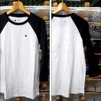 Emerica【エメリカ】ラグランTシャツ STIMULOUS RAGLAN (Black/White)サイズ:M