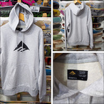 EMERICA【エメリカ】パーカー TRIANGLE PULLOVER HOODDIE(Grey ヘザー)サイズ:M