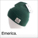 merica【エメリカ】ビーニー Standard Issue Beanie(GREEN)