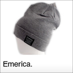 merica【エメリカ】ビーニー Standard Issue Beanie(Grey Heather)