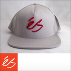 es【エス】キャップ SCRIPT SNAPBACK CAP (Gray)