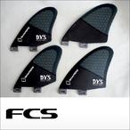 FCS【エフシーエス】クワッド用フィンセット QUAD DVS KEEL Carbon-f