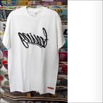 Feeling【フィーリング】Tシャツ ネームプリントTEE (WHT)