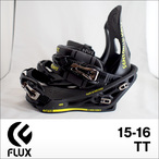【15-16】FLUX【フラックス】バインディング ビンディング TT(Metallic Matte Black)