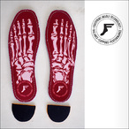Footprint Insole【フットプリント インソール】Kingfoam Insoles Red Skeleton 5mm