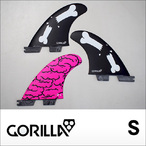 GORILLA FIN【ゴリラフィン】フィン FCS II BRAINS BONES BARS TRI FIN SET サイズ:S