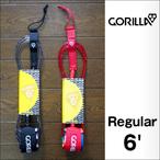 GORILLA GRIP【ゴリラグリップ】リーシュコード LEASHES 6'Regular