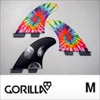 GORILLA FIN【ゴリラフィン】フィン FCS II MOON BEAMS TRI FIN SET サイズ:M