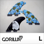 GORILLA FIN【ゴリラフィン】フィン FCS II SLOTH PALM TRI FIN SET サイズ:L