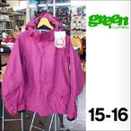 【15-16】GREEN CLOTHING【グリーンクロージング】スノージャケット HEAVY JACKET(Berry)サイズ:M