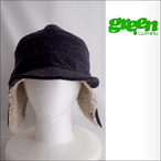 GREEN CLOTHING【グリーンクロージング】キャップ BOA CAP (Navy/Nep) Sサイズ