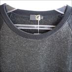 【15-16】GREEN CLOTHING【グリーンクロージング】ファーストレイヤー EZ WOOL SERIES / RAGLAN (Charcoal/Black)