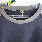 【15-16】GREEN CLOTHING【グリーンクロージング】ファーストレイヤー EZ WOOL SERIES / RAGLAN (Purple/Grey)