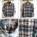 GREEN CLOTHING【グリーンクロージング】長袖シャツ WOOL FLANNEL SHIRTS (Check)