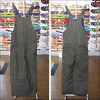 【16-17】GREEN CLOTHING【グリーンクロージング】スノーパンツ BIB PANTS(オリーブ)