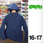 【16-17】GREEN CLOTHING【グリーンクロージング】スノージャケット FREE JACKET(ネイビー)