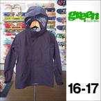 【16-17】GREEN CLOTHING【グリーンクロージング】スノージャケット HEAVY JACKET(プラム)