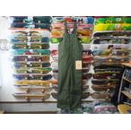【17-18】GREEN CLOTHING【グリーンクロージング】スノーパンツ BIB PANTS(オリーブ) Lサイズ