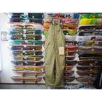 【17-18】GREEN CLOTHING【グリーンクロージング】スノーパンツ BIB PANTS(サンド) Mサイズ