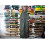 【18-19】GREEN CLOTHING【グリーンクロージング】スノーパンツ BIB PANTS(グレー) Mサイズ