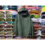 【18-19】GREEN CLOTHING【グリーンクロージング】スノージャケット HEAVY JACKET(オリーブ) Lサイズ