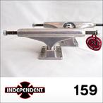 Independent【インデペンデント】スケボートラック stage11 Silver Trucks 159