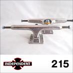 Independent【インデペンデント】スケボートラック stage11 Silver Trucks 215
