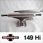 Independent【インデペンデント】スケボートラック stage11 Silver Trucks 149Hi