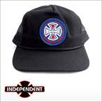 Independent【インデペンデント】メッシュキャップ AMI PATCH(Black)