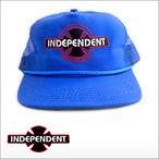 Independent【インデペンデント】メッシュキャップ O.G.B.C CAN'T BE BEAT(Royalblue)