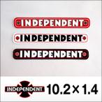 independent【インデペンデント】ステッカー BAR 102