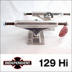 Independent【インデペンデント】スケボートラック STAGE 11 129  SILVER  STANDARD