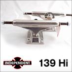 Independent【インデペンデント】スケボートラック STAGE 11 139  SILVER  STANDARD